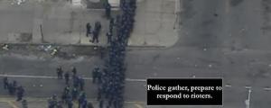 Baltimore police prepare