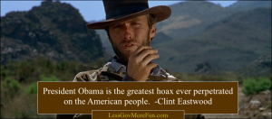 Eastwood obama hoax Aamerican people