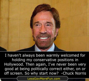 chuck-norris hollywood politically correct