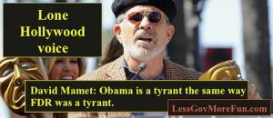 david mamet 1 Obama Tyrant