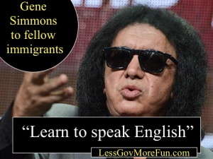 gene_simmons immigrants speak english