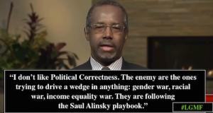 Political Correctedness Ben Carson