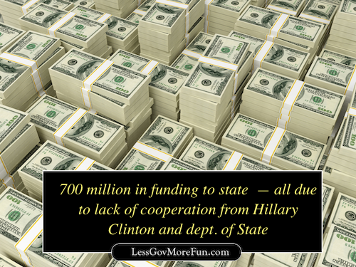 700 million benghazi hillary missing email pallet of money