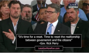 Gov Rick Perry 2016 announcment 8