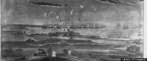 fort mchenry war of 1812 sink ships